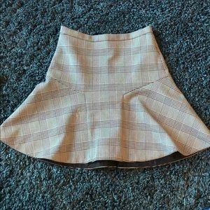 Jcrew fit and flare skirt size 00